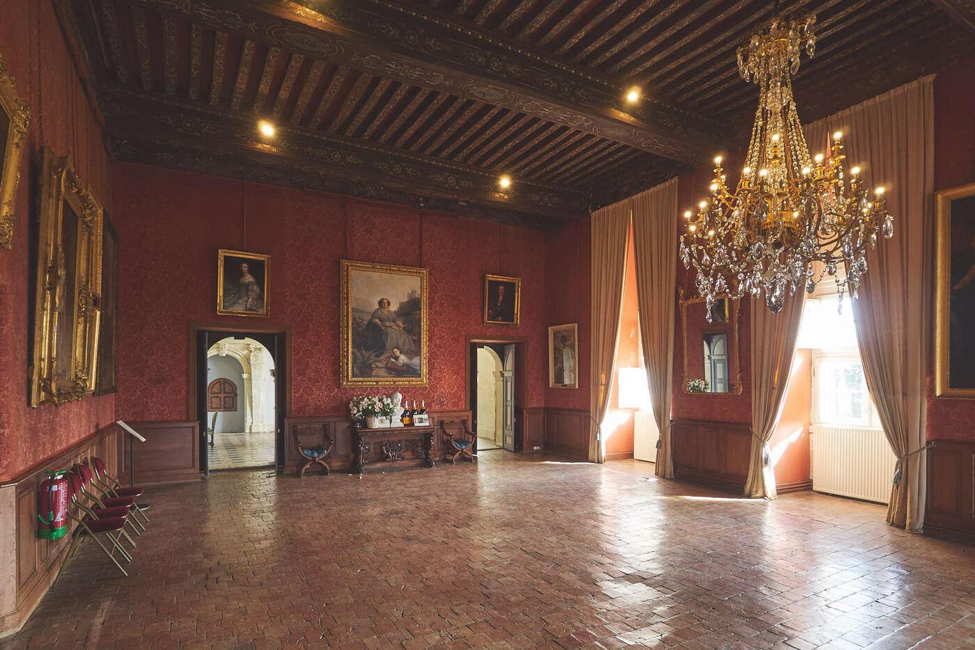 Galerie des Portraits du château de Brissac