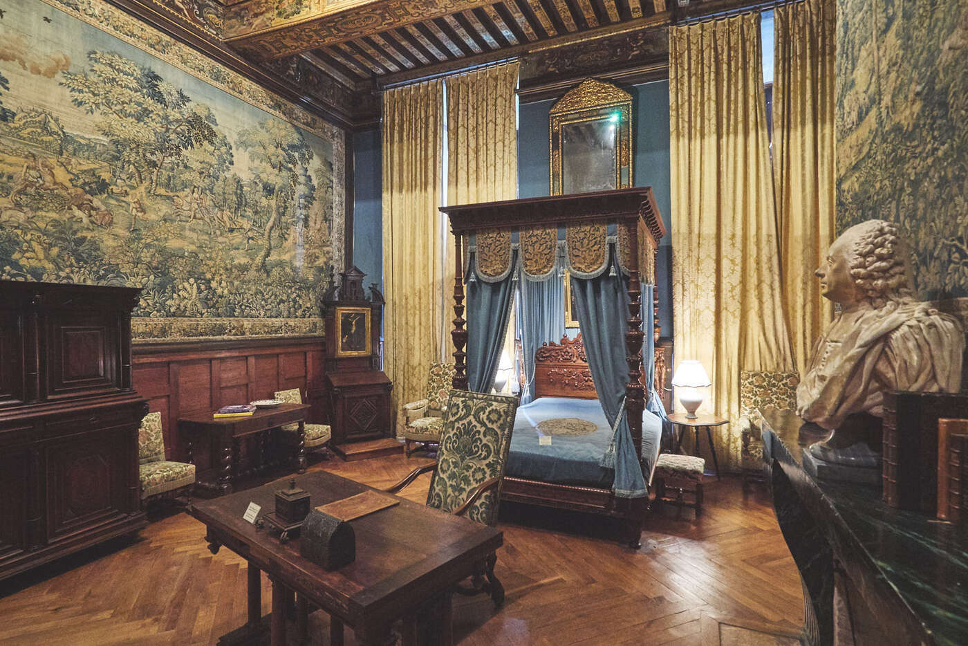 Chambre des Chasses du château de Brissac