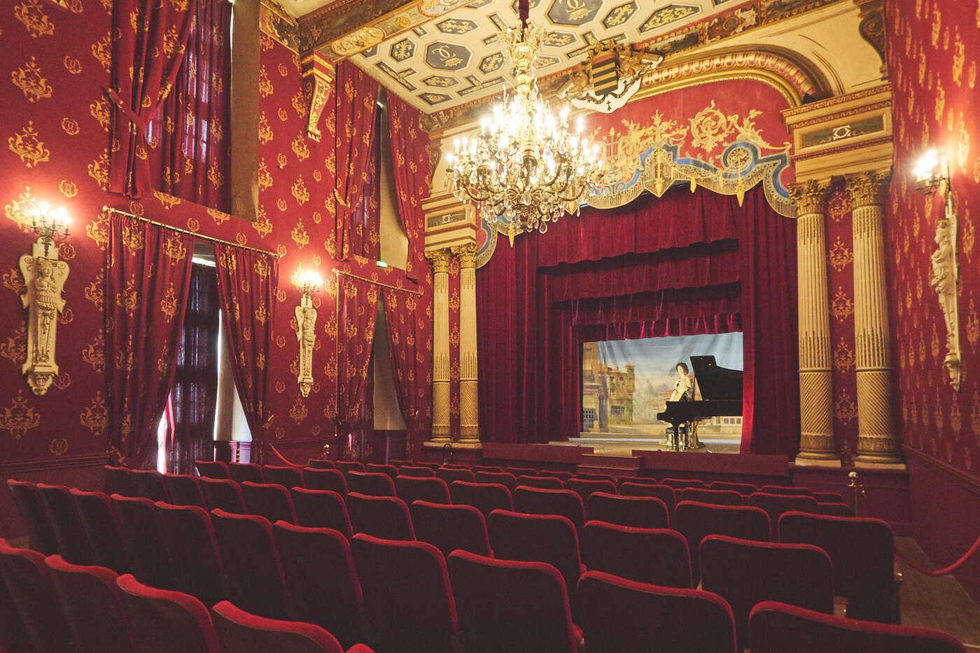 Théâtre du château de Brissac
