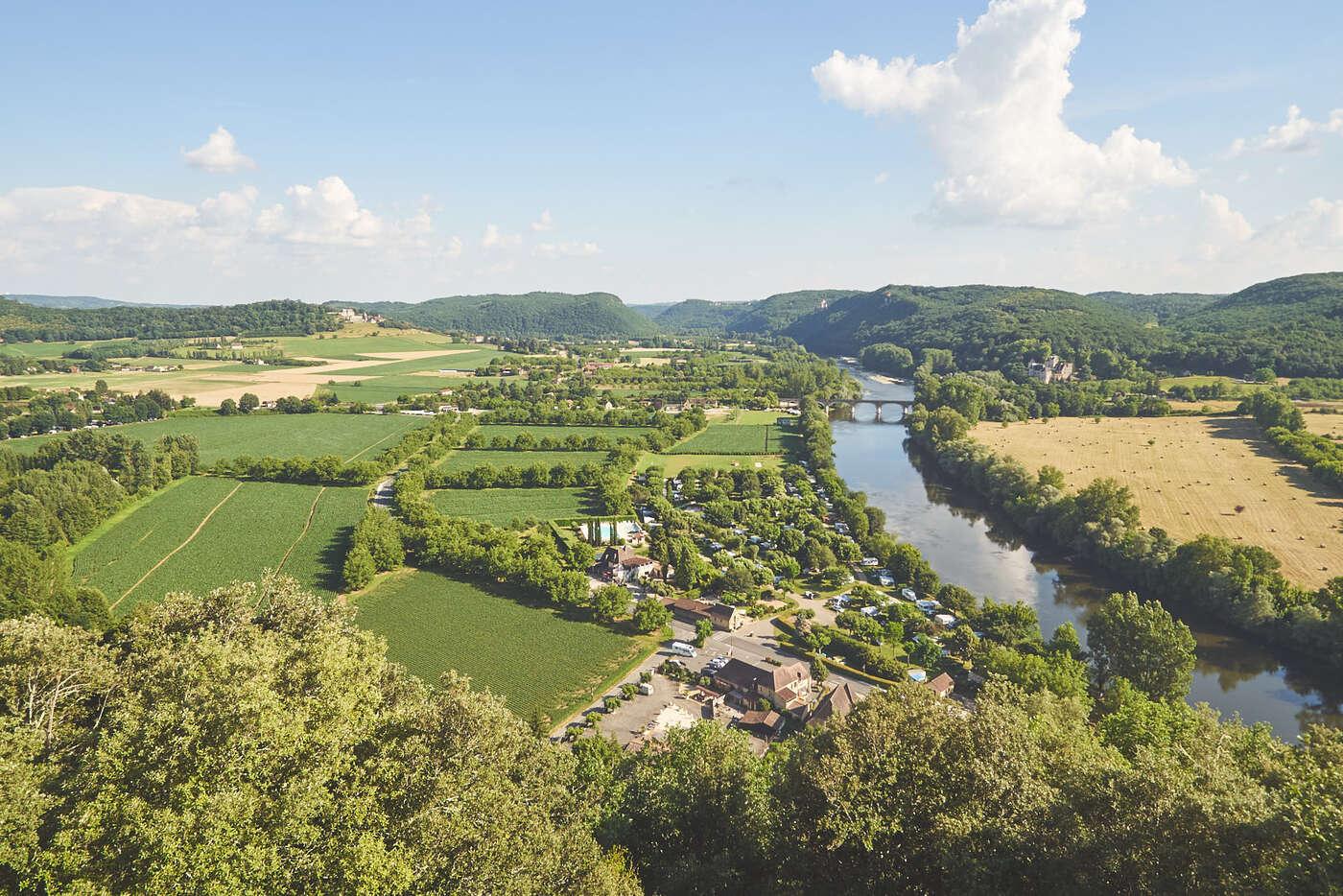 Point de vue depuis Beynac-et-Cazenac
