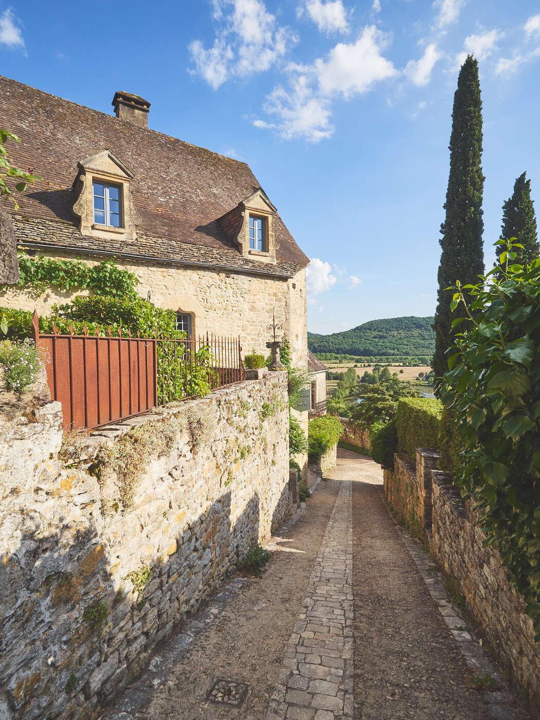 Ruelles en montée de Beynac-et-Cazenac
