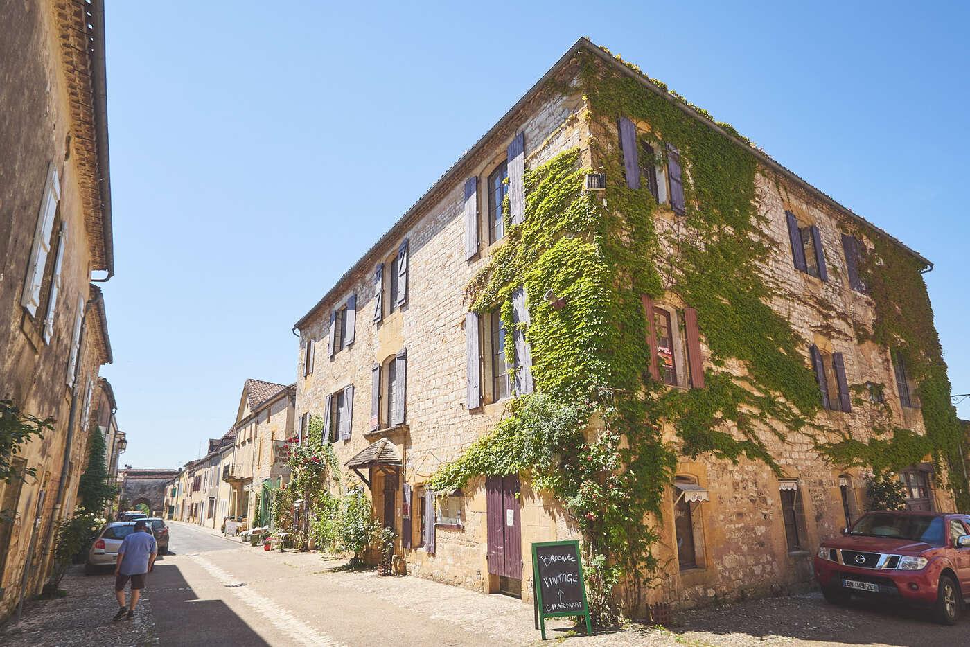 Rues de Monpazier