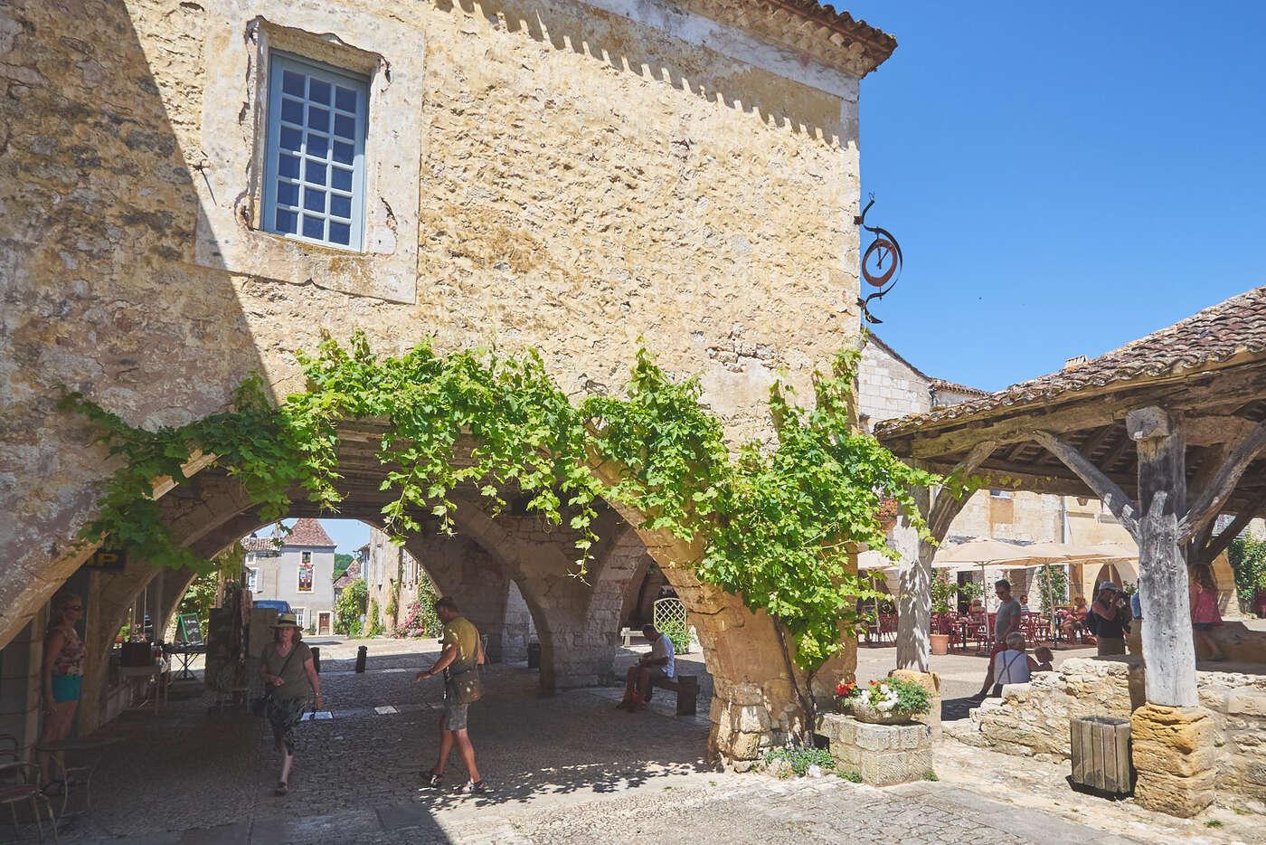 Arcades de Montpazier