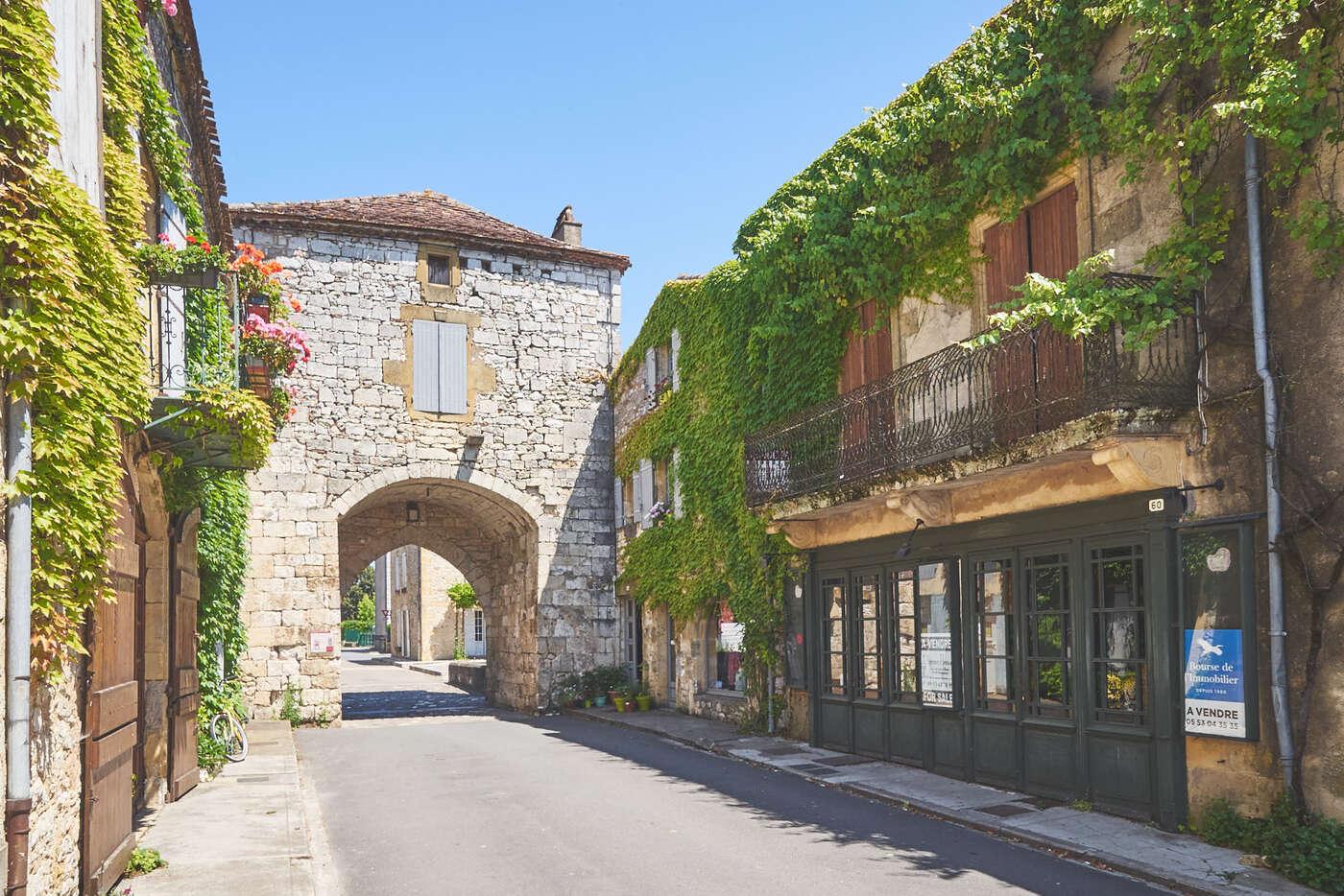 Porte de Monpazier