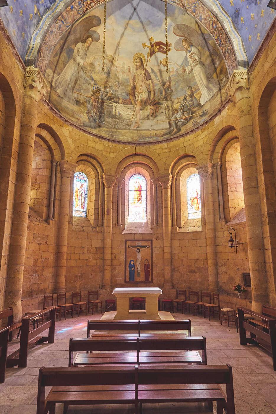Chappelle de l'abbatiale de Cadouin