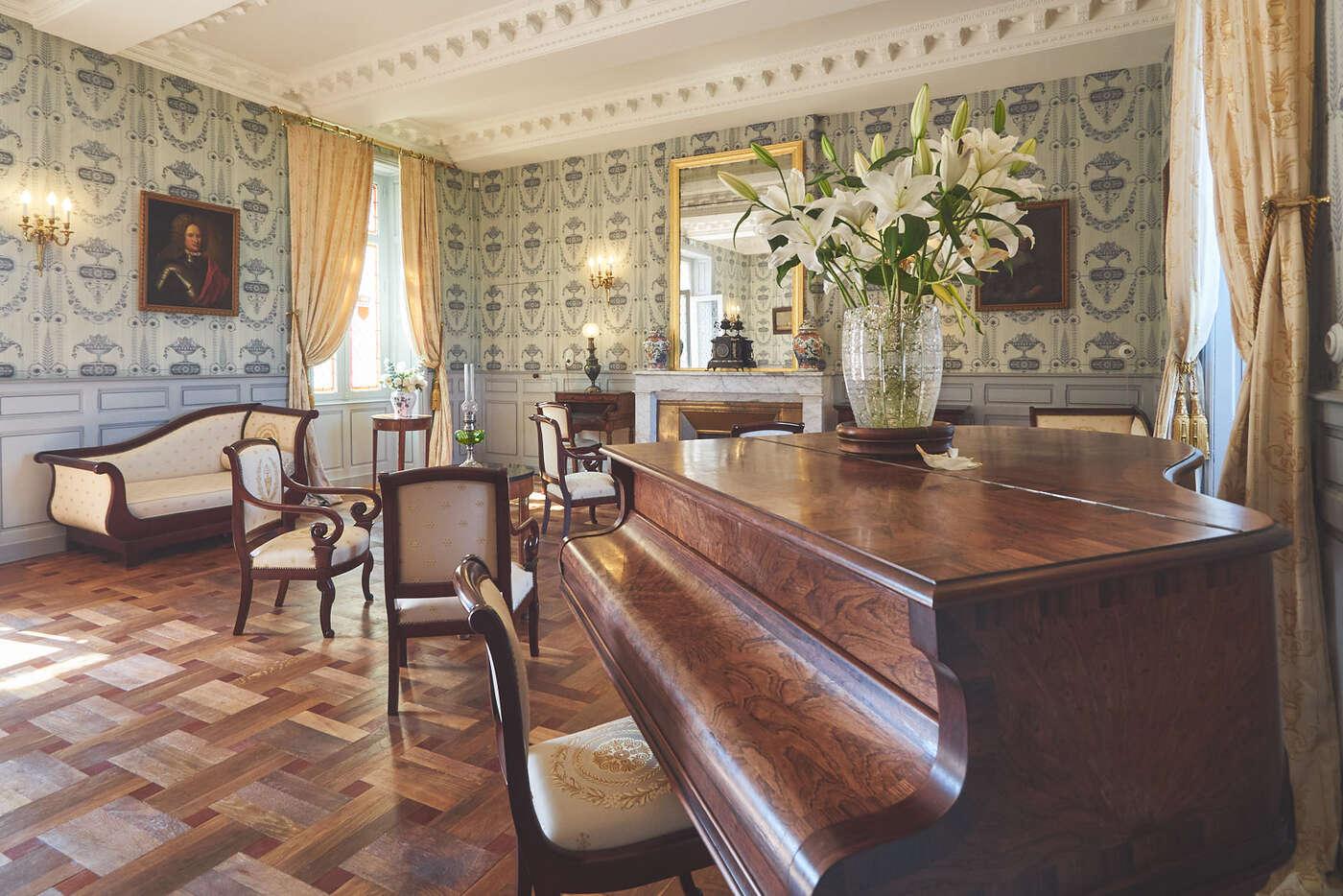 Salon du château de Marqueyssac