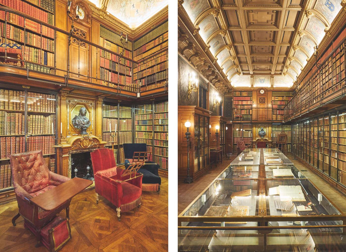 Le cabinet des livres du château de Chantilly