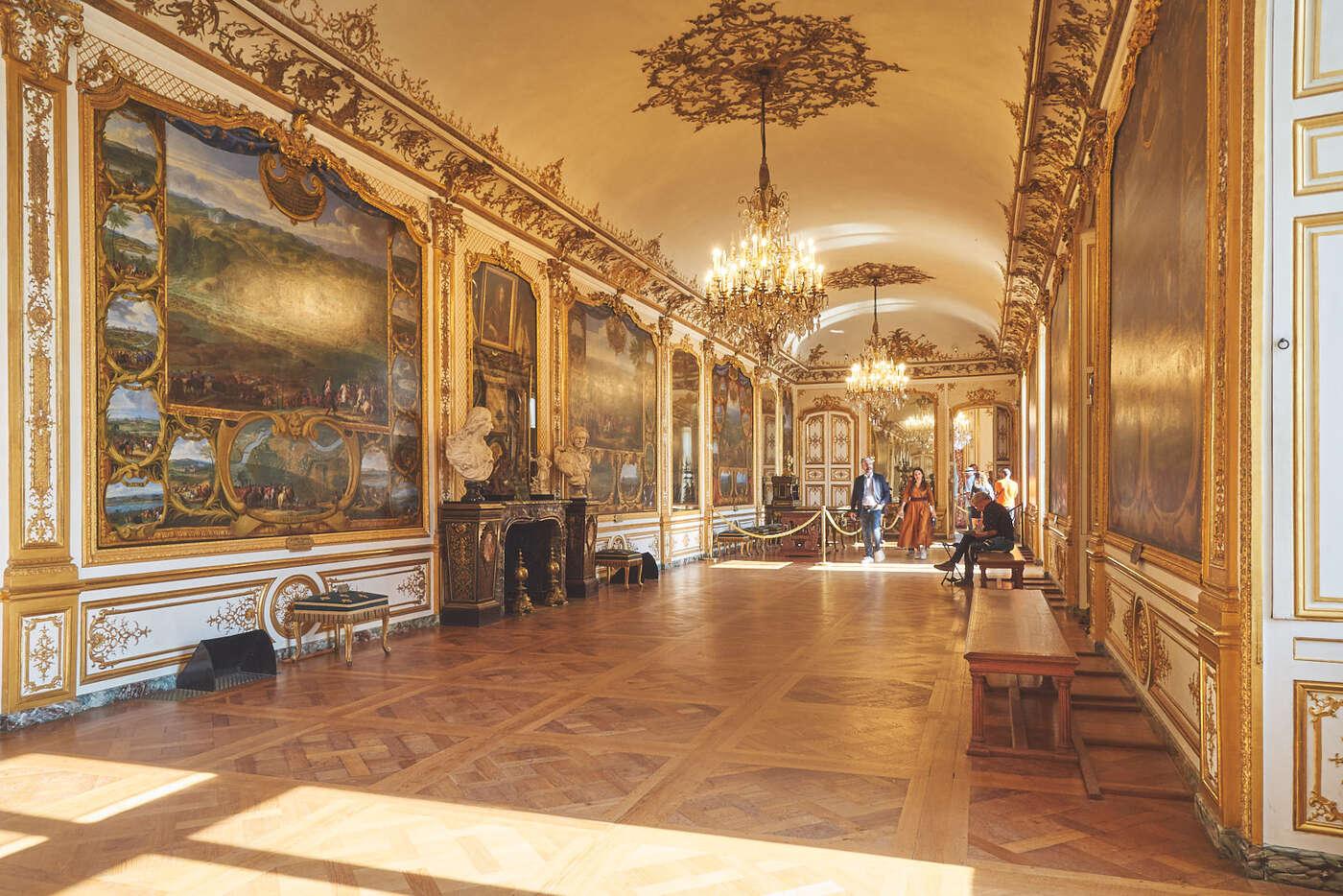 Galerie des batailles du château de Chantilly