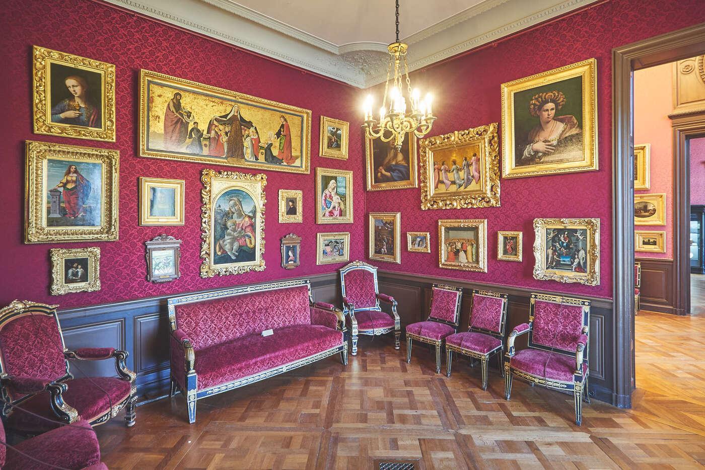 Le Cabinet des Clouet du château de Chantilly