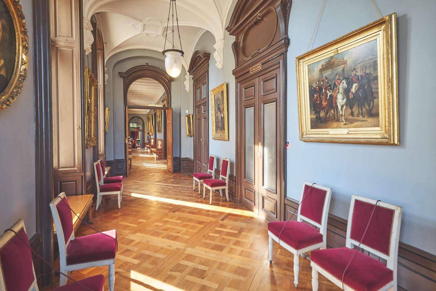 Couloir du Château de Chantilly