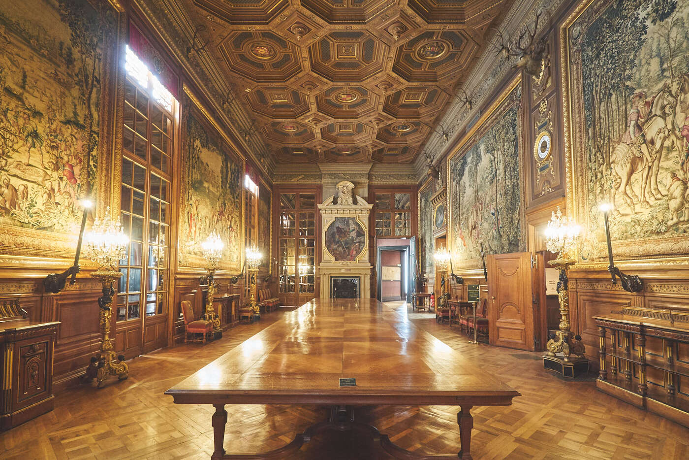 La Galerie des Cerfs du château de Chantilly