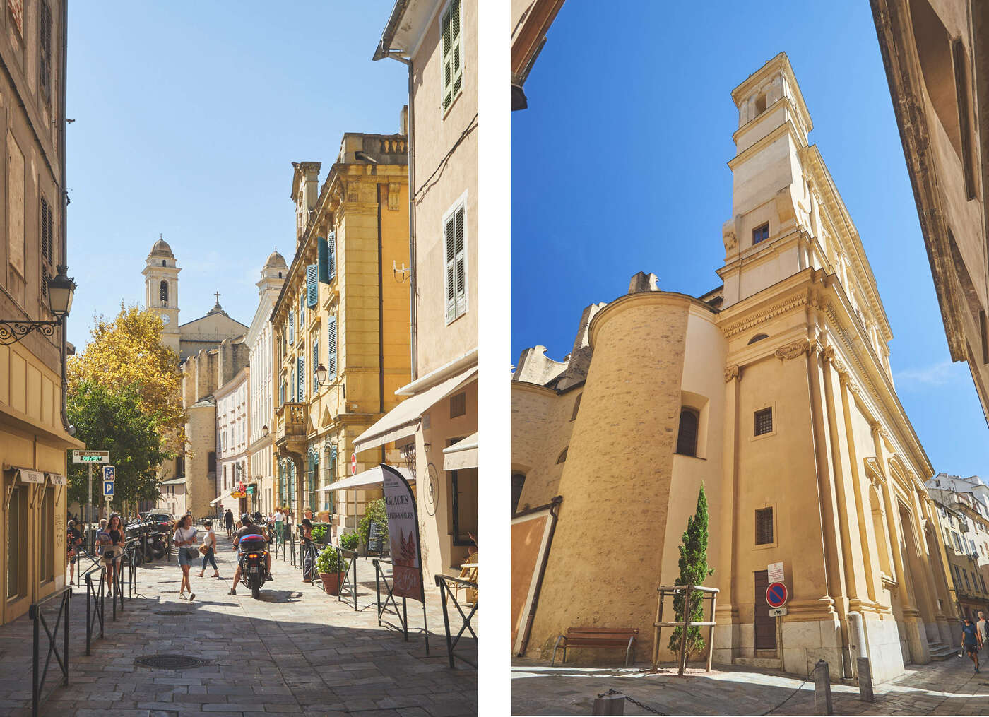 Rues de Bastia