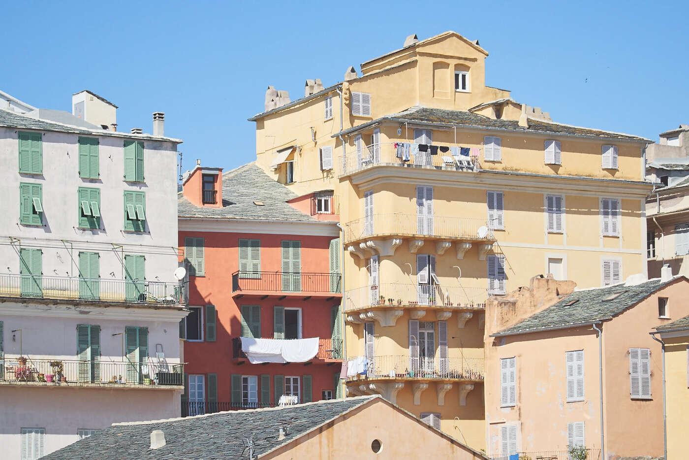 Immeubles de Bastia