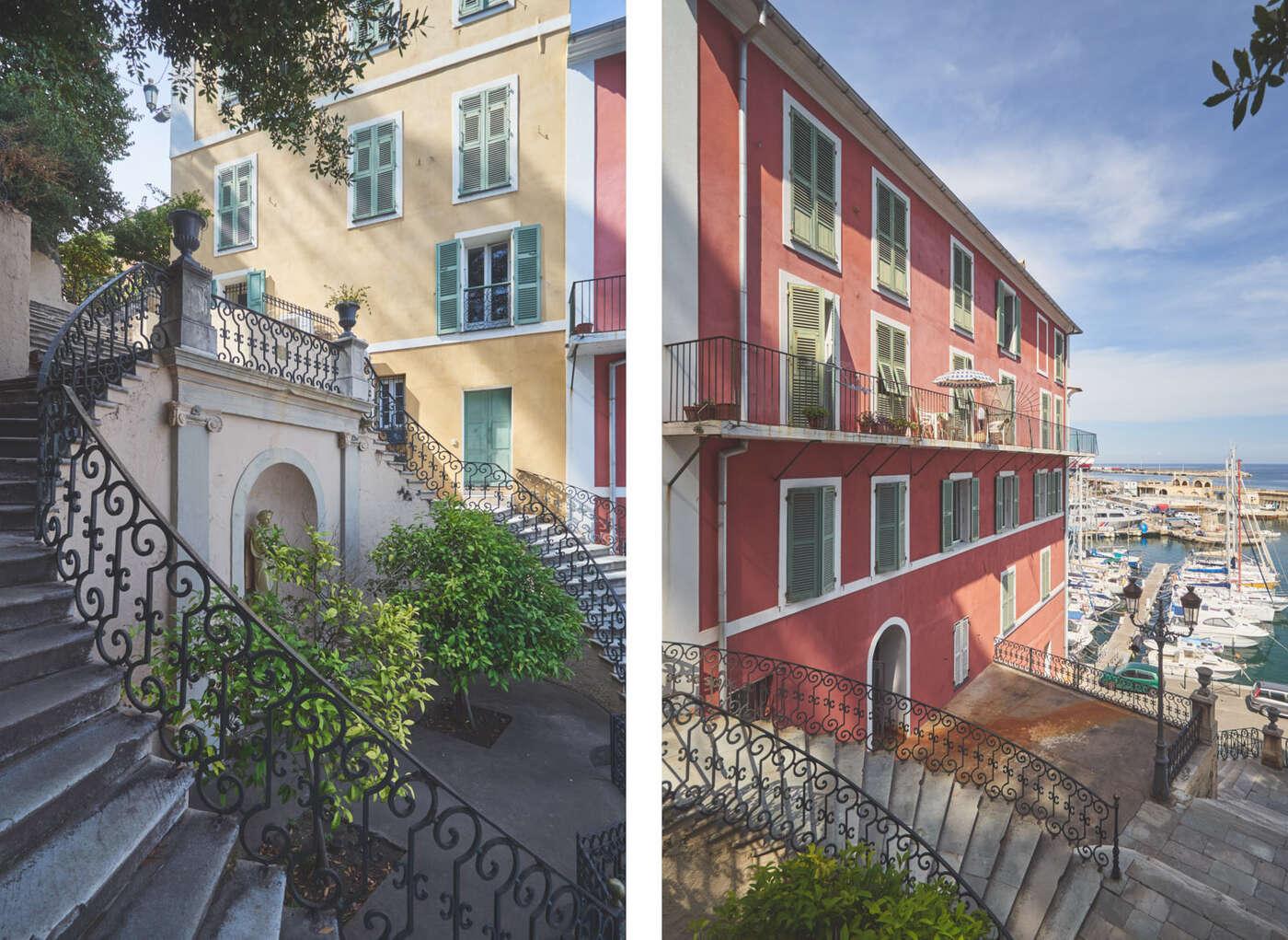 Escalier Romieu de Bastia