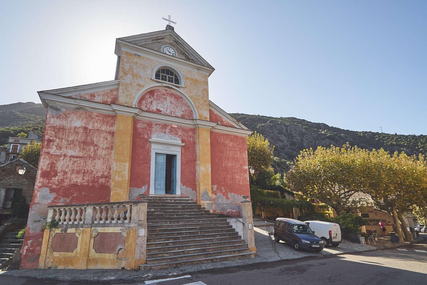 Eglise Sainte-Julie, Nonza, Cap Corse