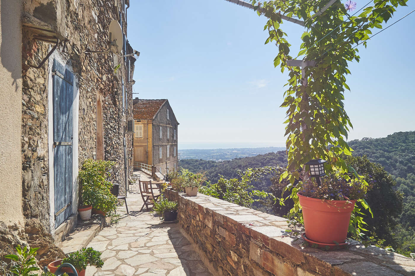 Ruelles de Castellare-di-Casinca, en Corse