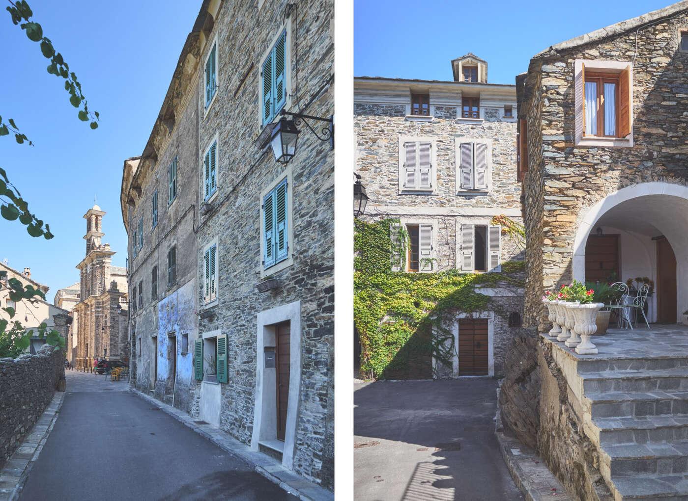 Ruelles de Penta-di-Casinca, en Corse