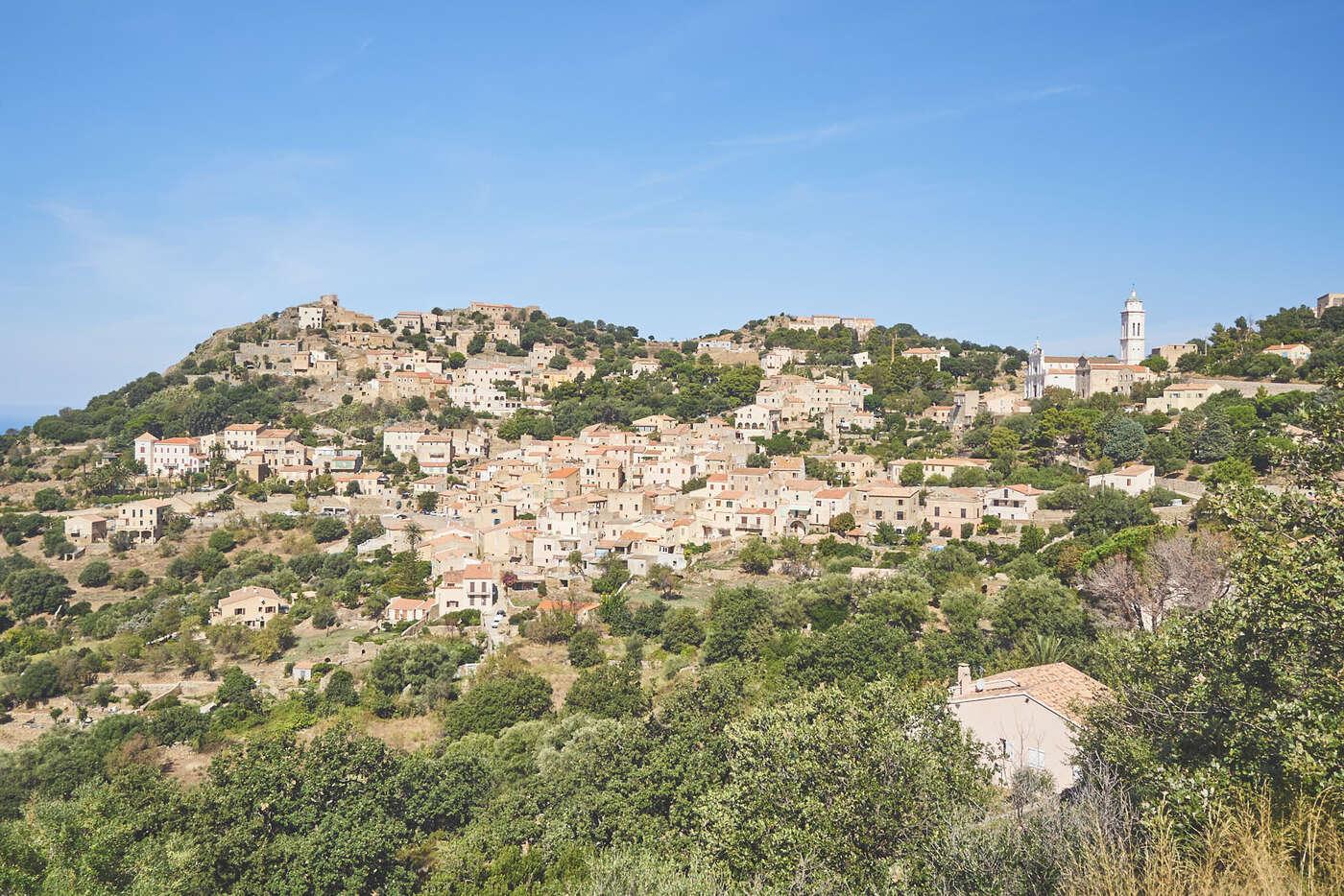 Village de Corbara, en Balagne