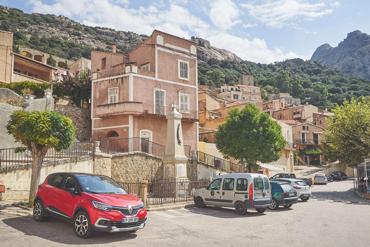 Lumio, en Balagne, Corse