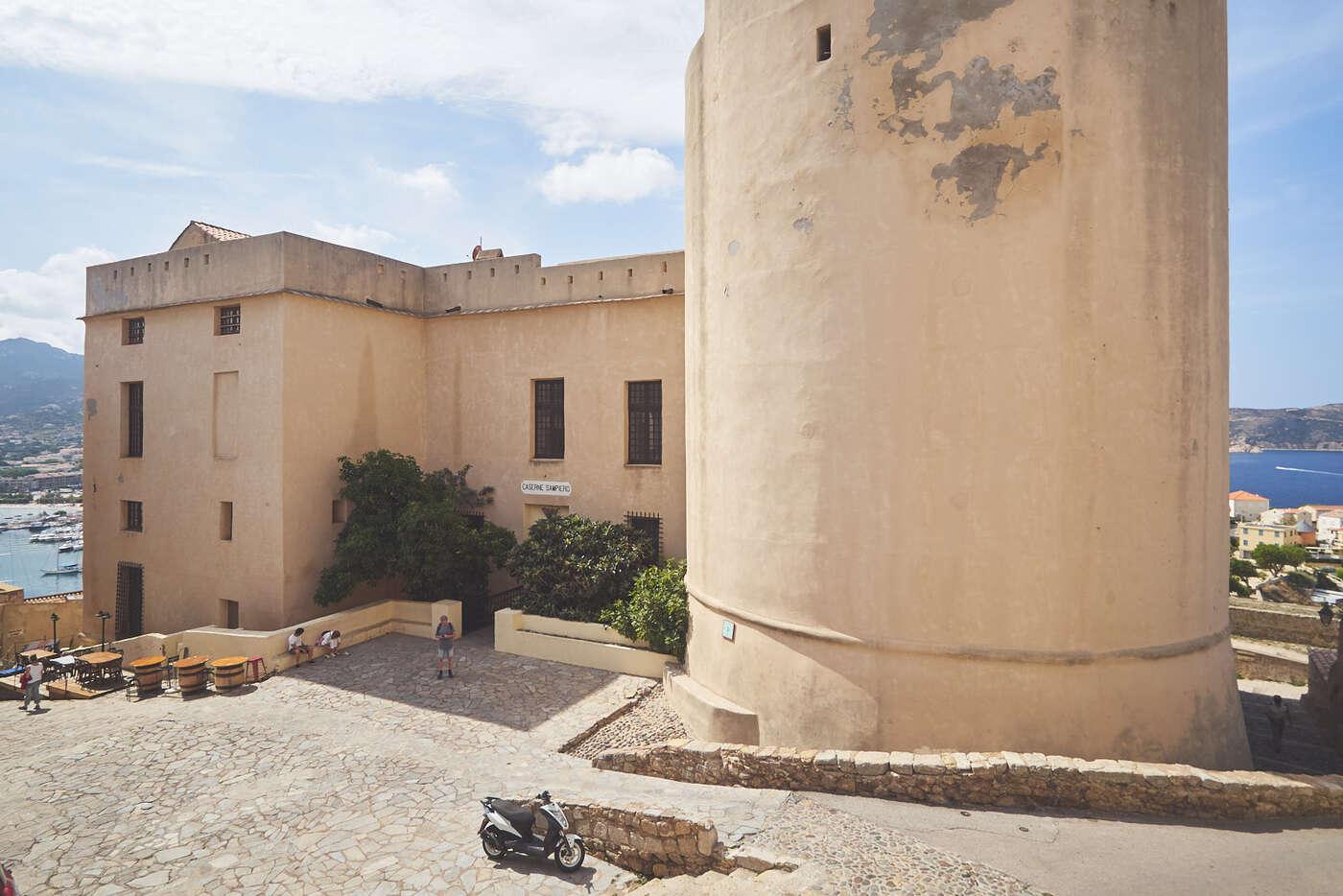 Caserne Sampiero de la citadelle de Calvi, Corse