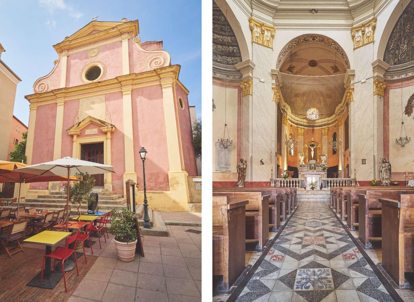 Église sainte Marie majeure de Calvi