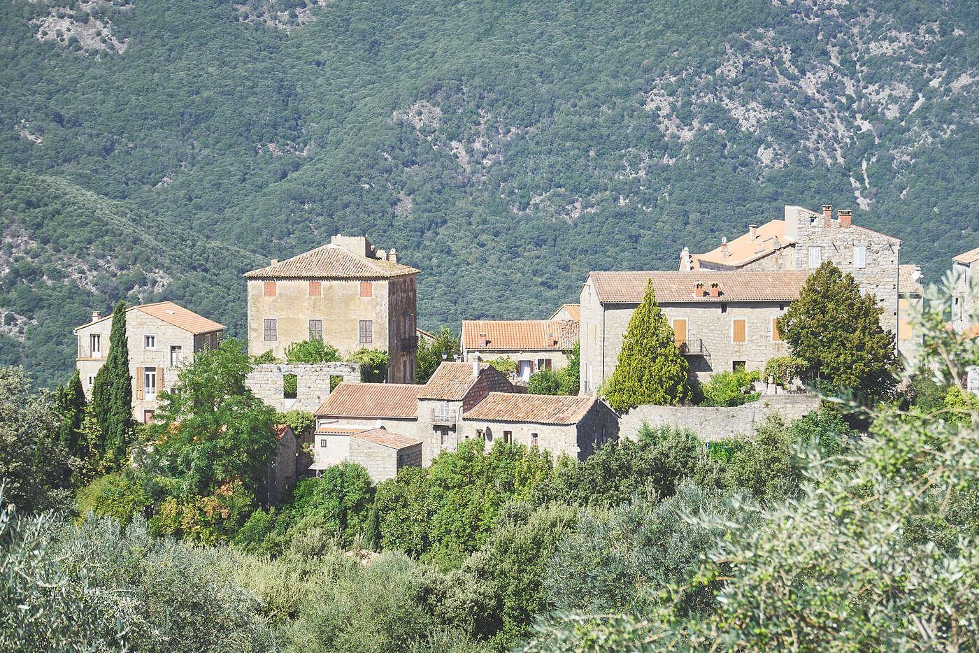 Sainte-Lucie-de-Tallano, en Corse