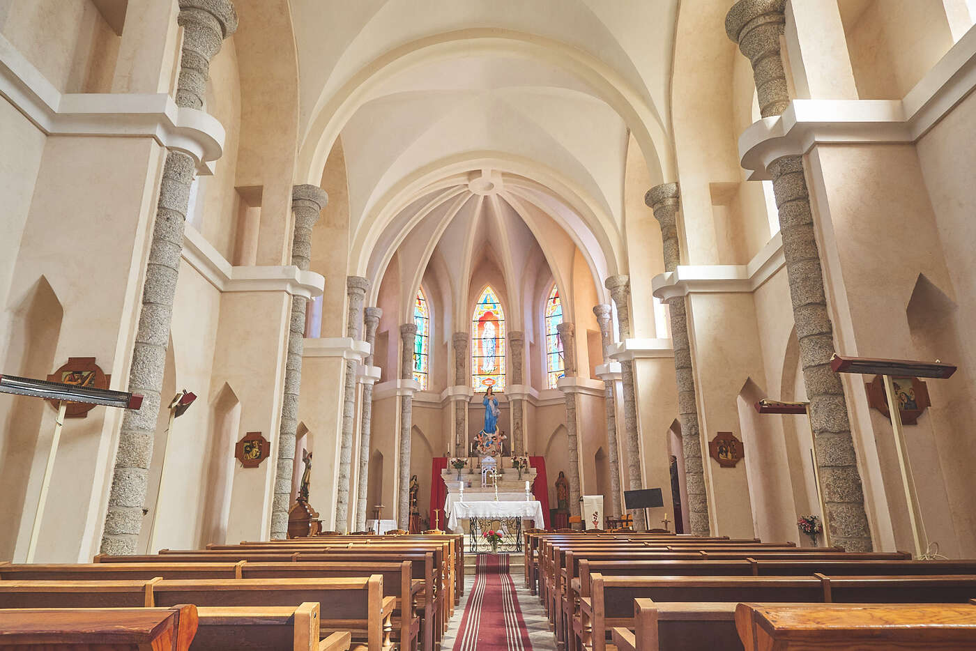 Eglise de Zonza, en Corse