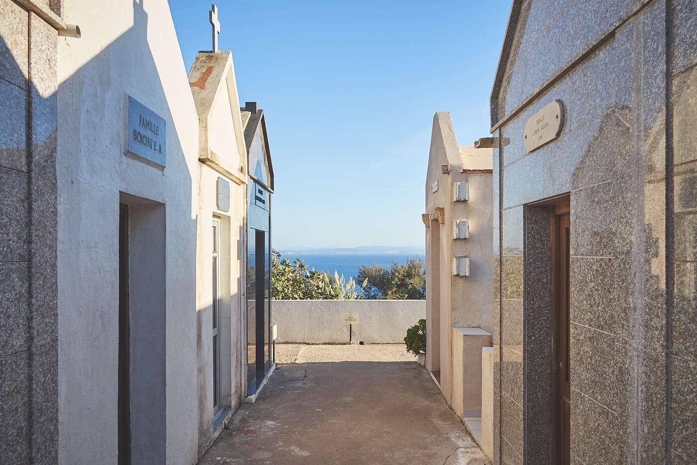 Cimetière de Bonifacio, Corse