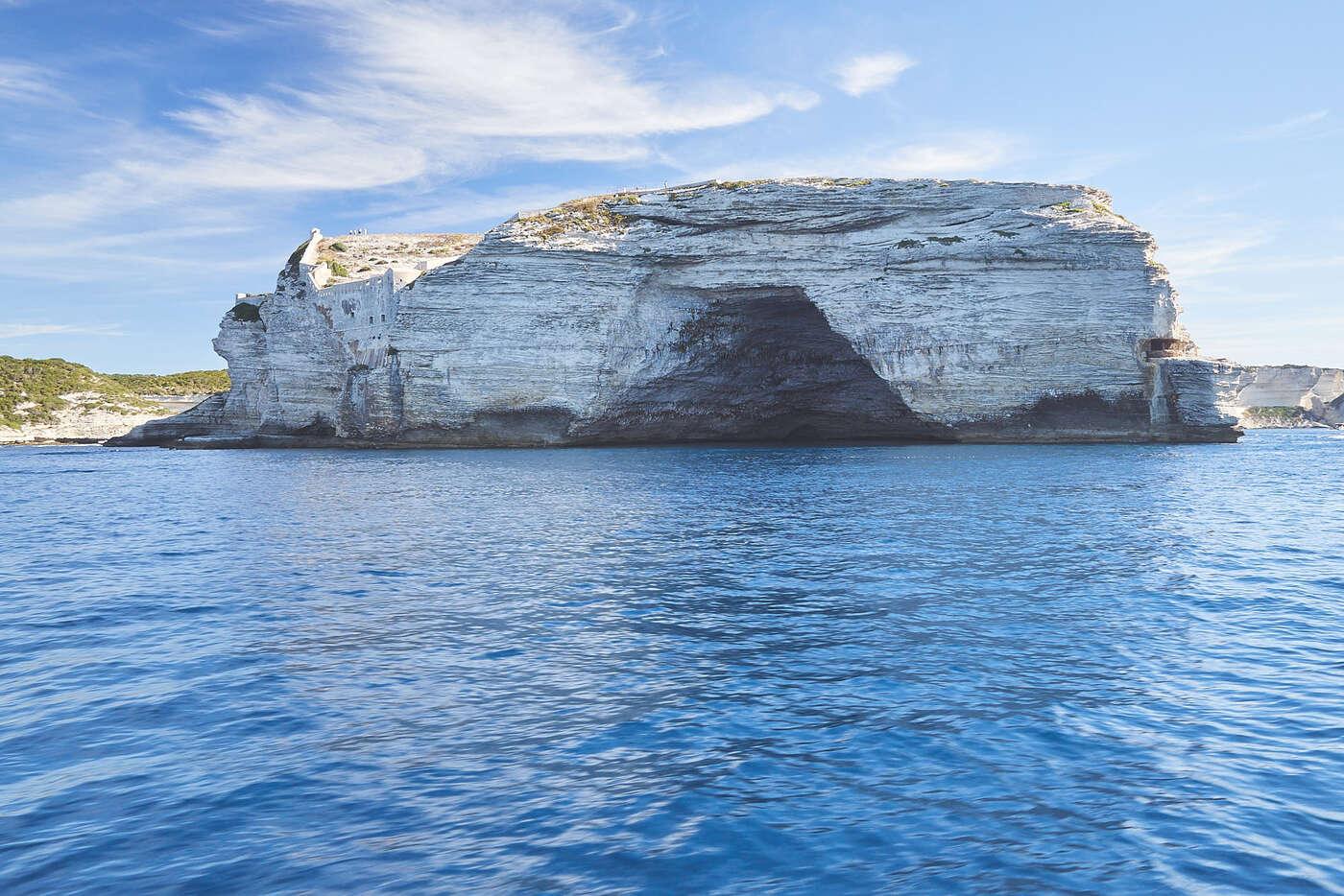 Embouchure du port de Bonifacio, Corse