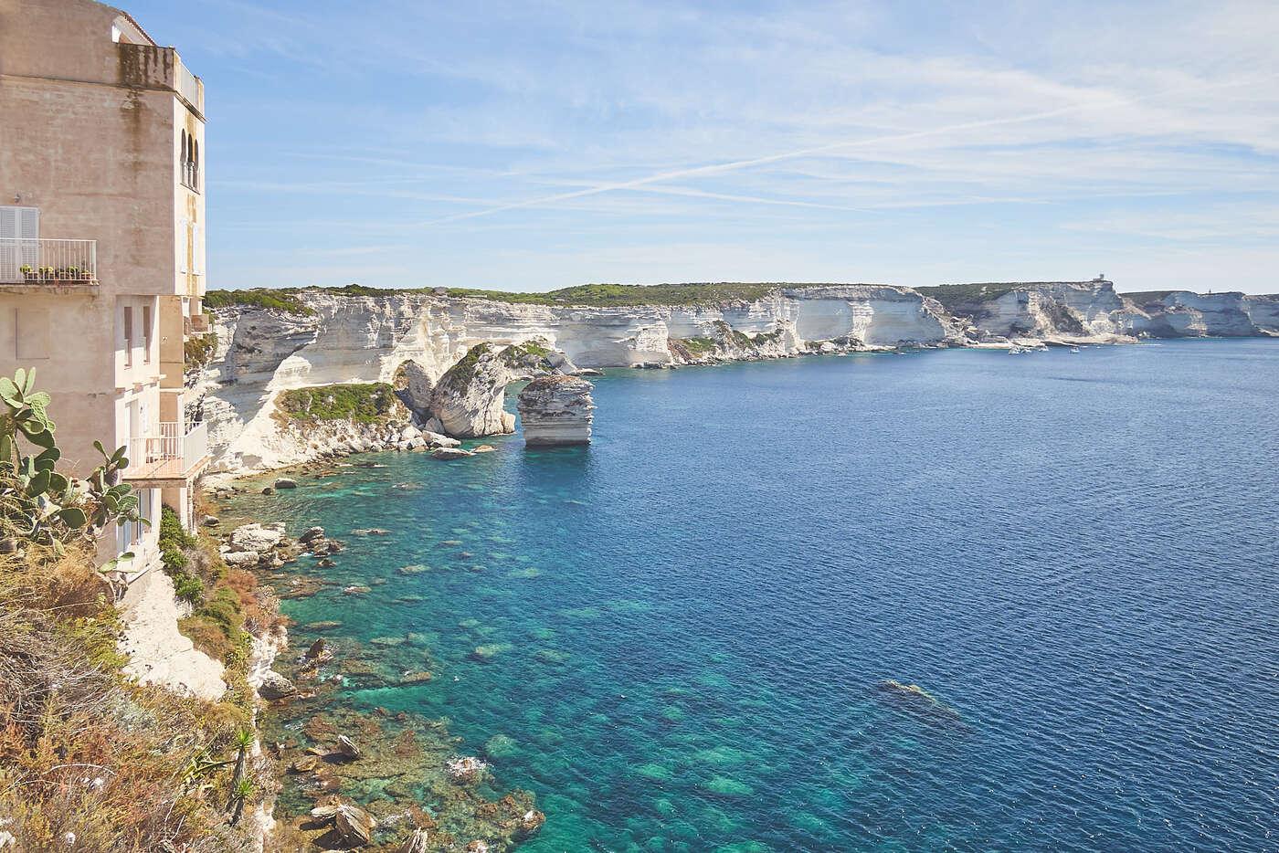 Falaise de Bonifacio, Corse