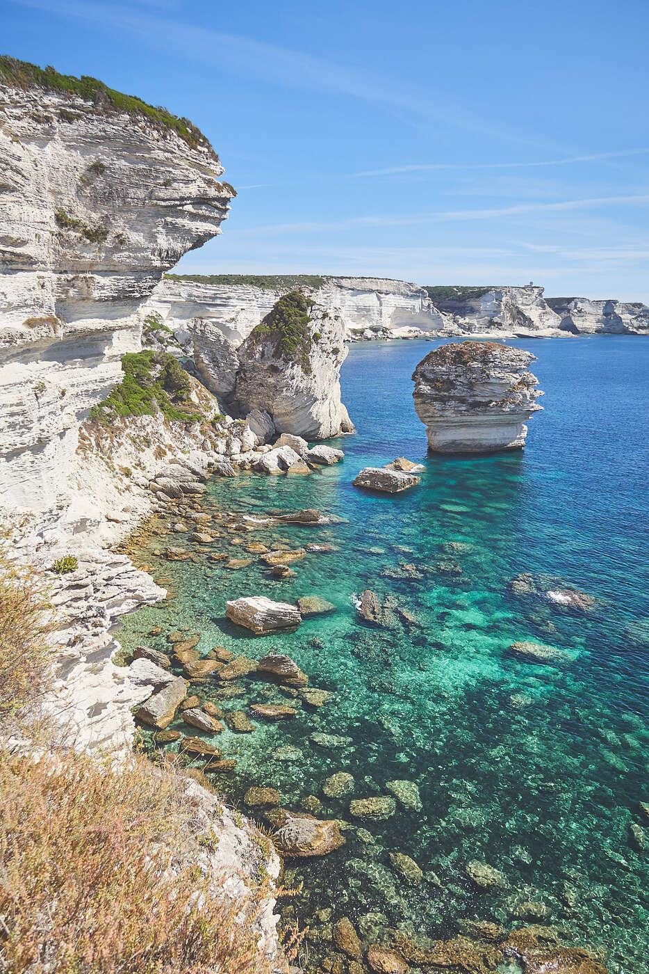 Rocher du grain de sable, Bonifacio, Corse