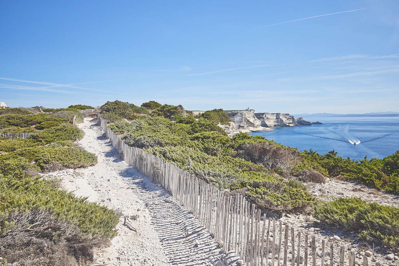 Promenade de Bonifacio, Corse