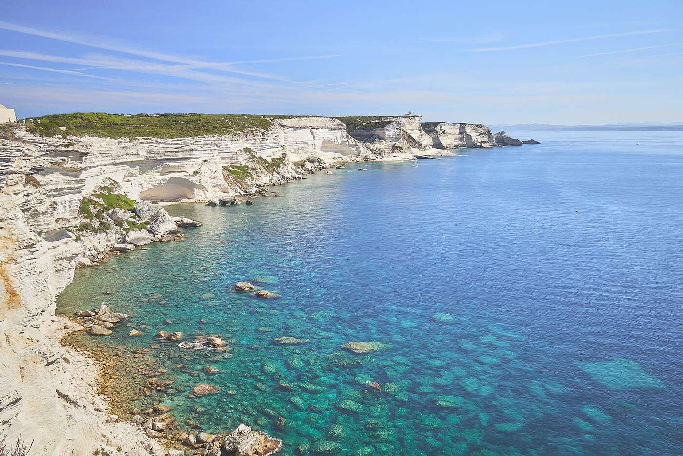 Anse de Bonifacio, Corse