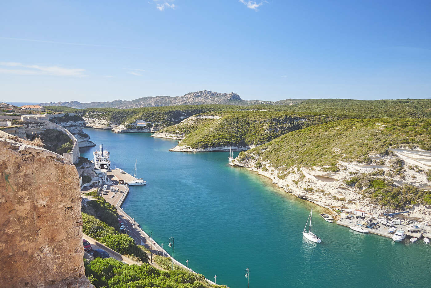 Canal du port de Bonifacio, Corse