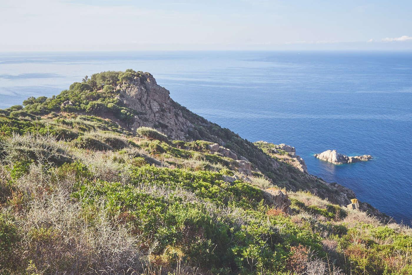 Randonnée du Capo Rosso, Corse