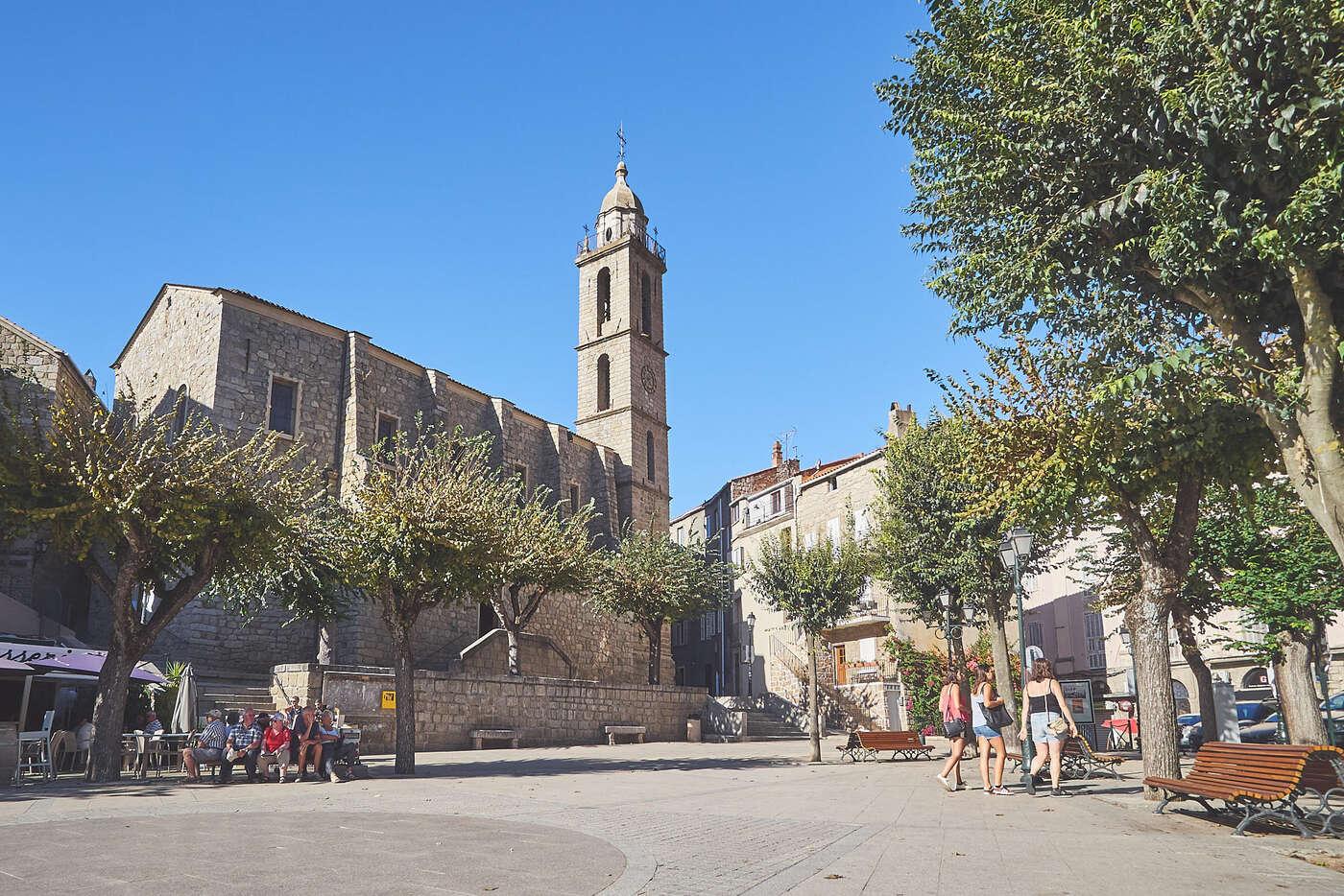 Eglise de Sartène, Corse