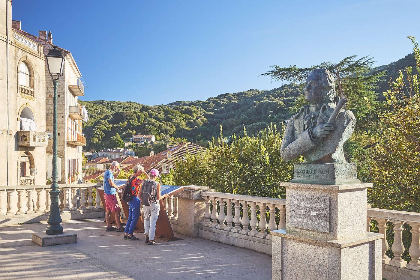 Statue Paoli, Sartène, Corse