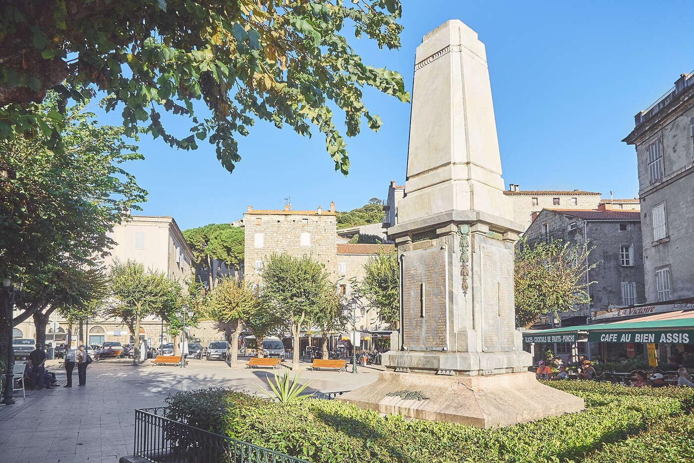 Monument aux morts, Sartène