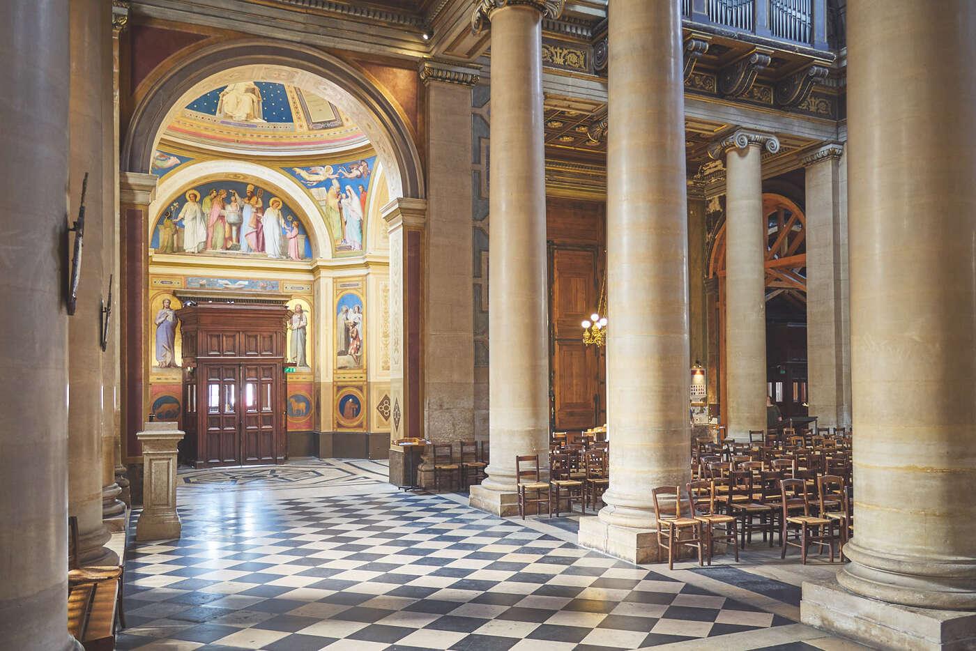 Nef de Notre-Dame-de-Lorette