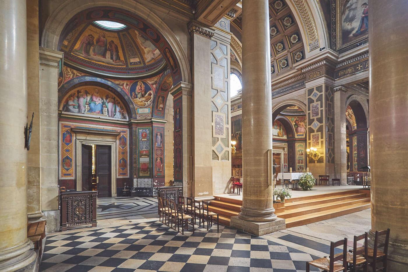 Choeur de Notre-Dame-de-Lorette