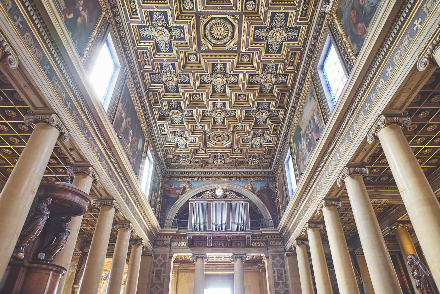 Plafond de Notre-Dame-de-Lorette