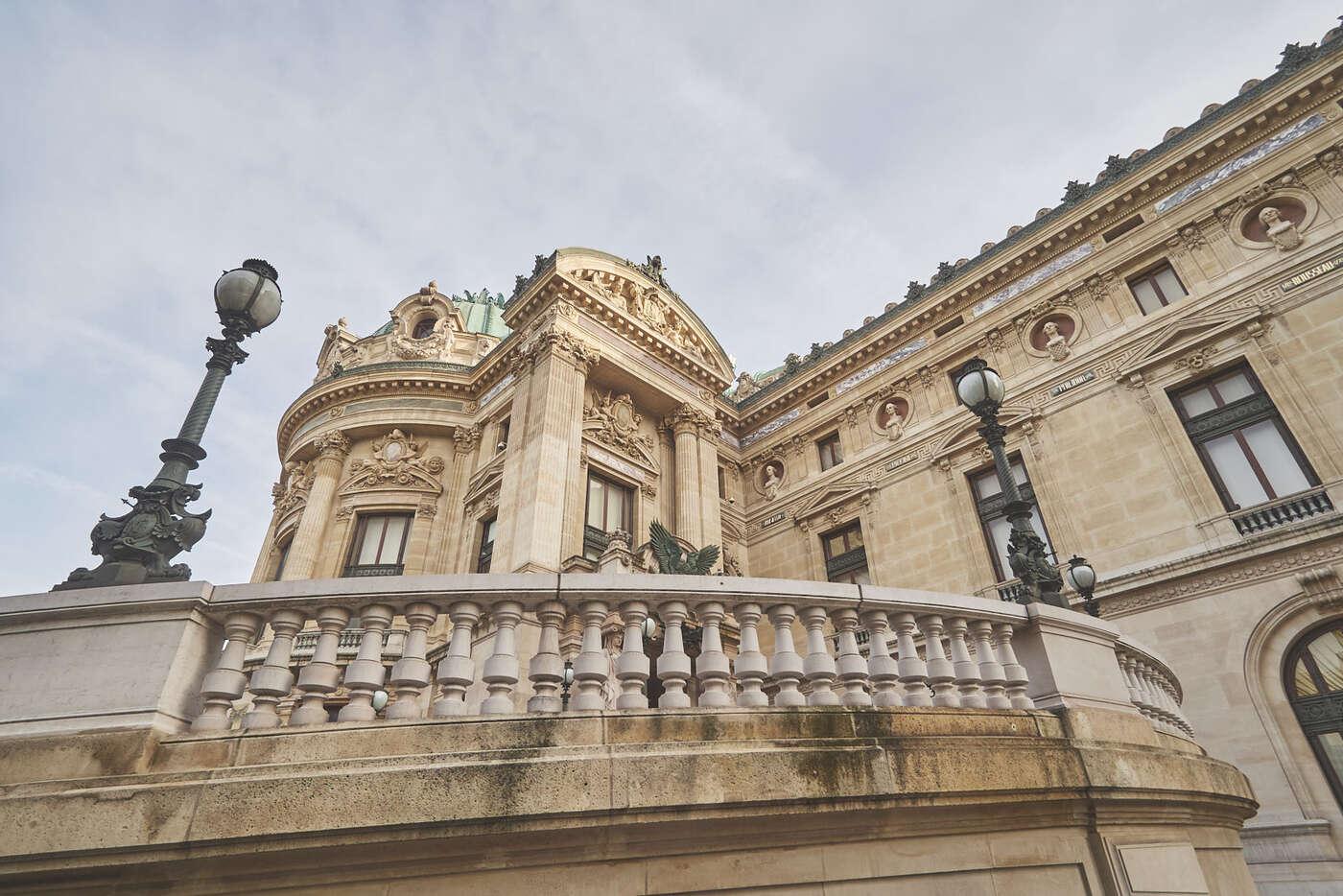 PAlais Garnier, à Paris