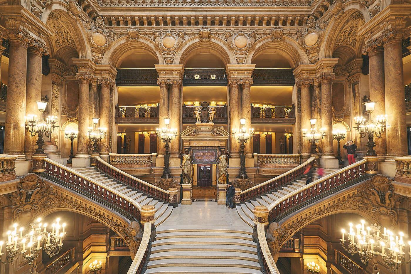 Grand Escalier de l'Opéra Ganier
