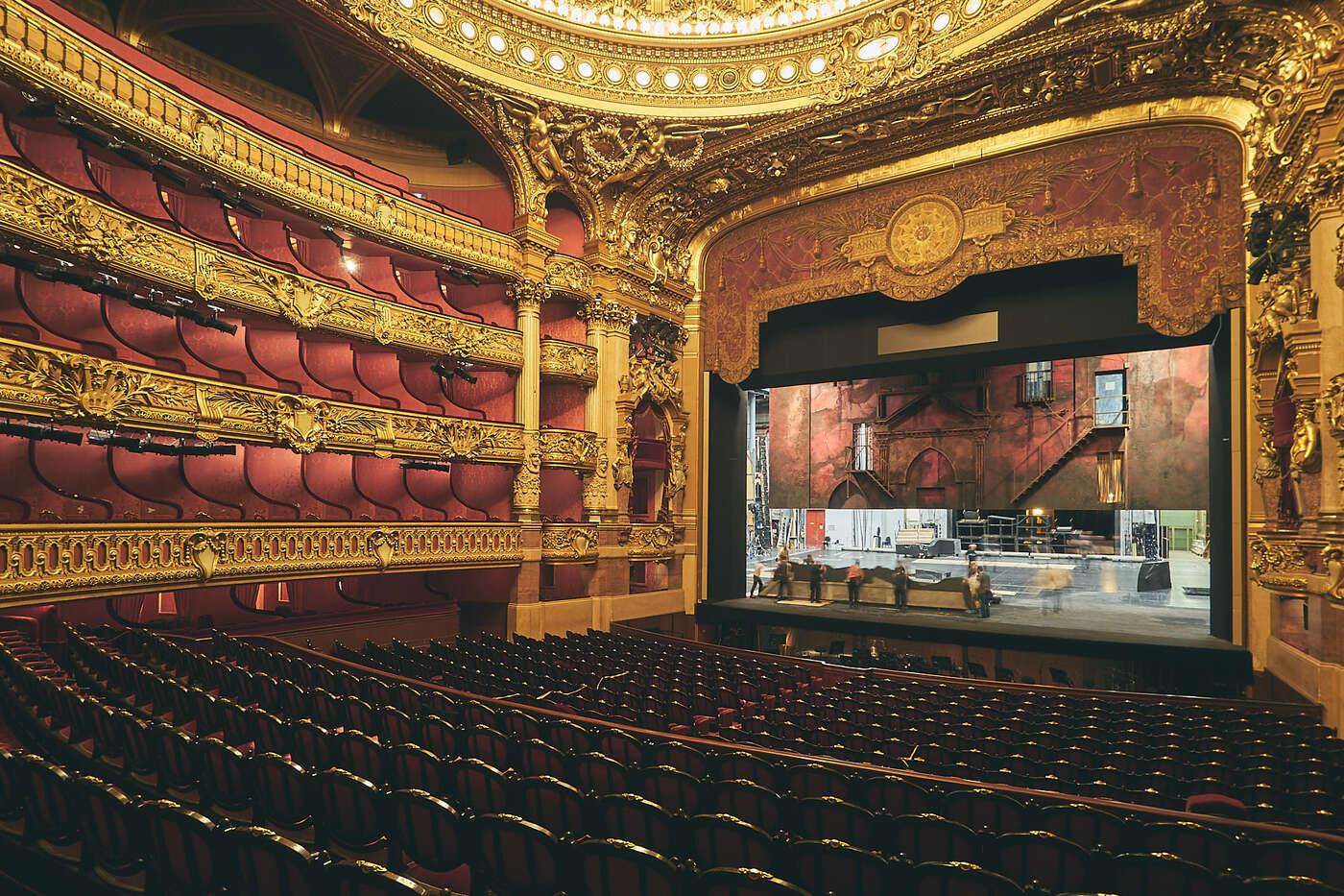 Amphithéâtre de l'Opéra Garnier