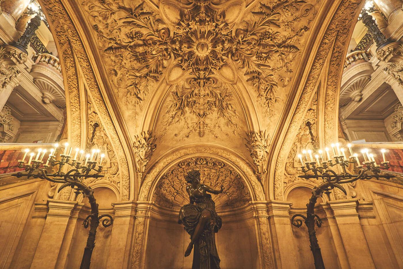 Statue de l'Opéra Ganier