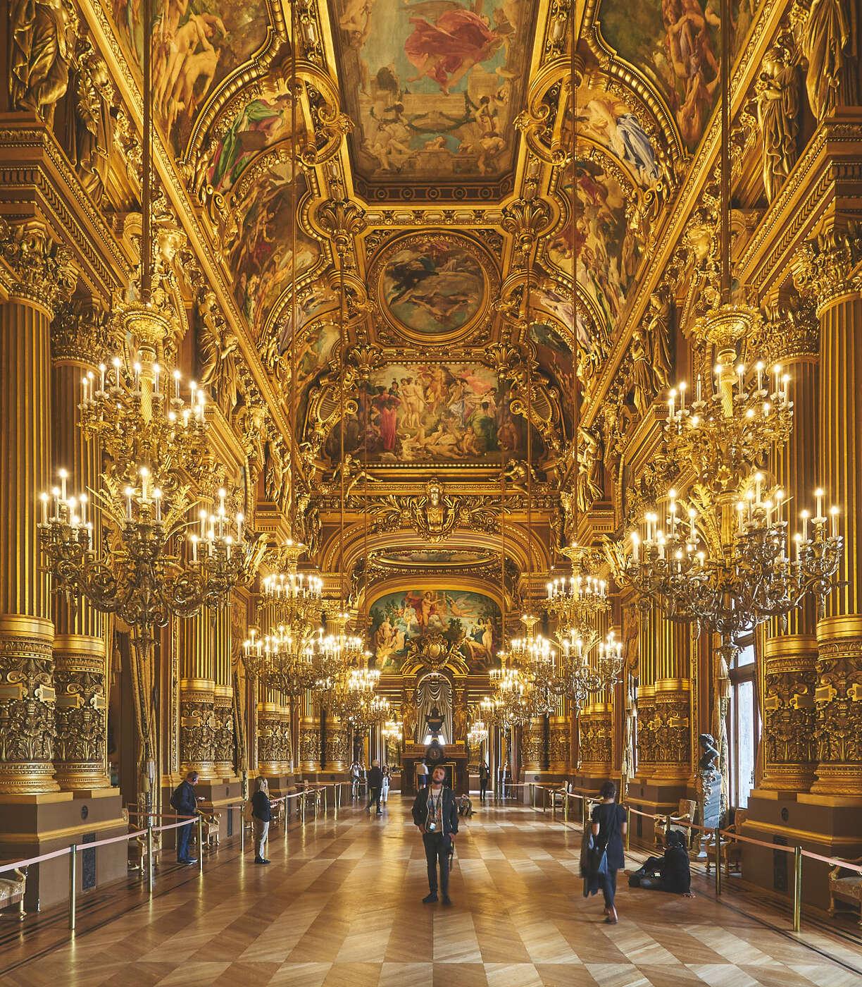 Grande galerie de l'Opéra Garnier