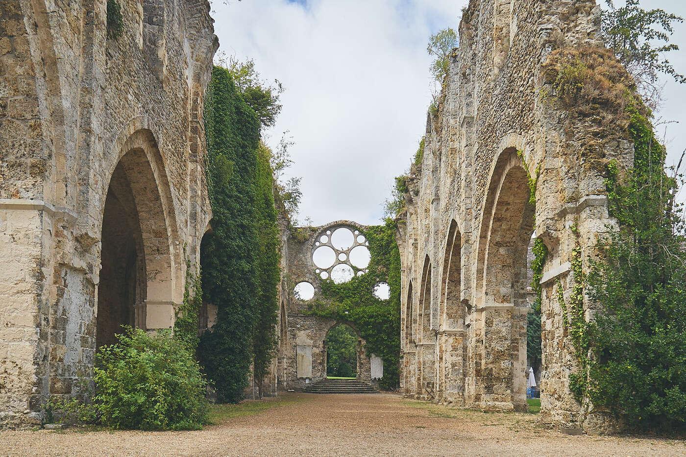 Abbatiale de l'abbaye de Vaux en Cernay