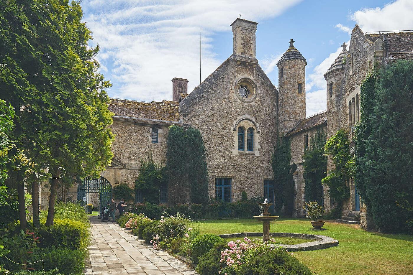Abbaye de Vaux en Cernay