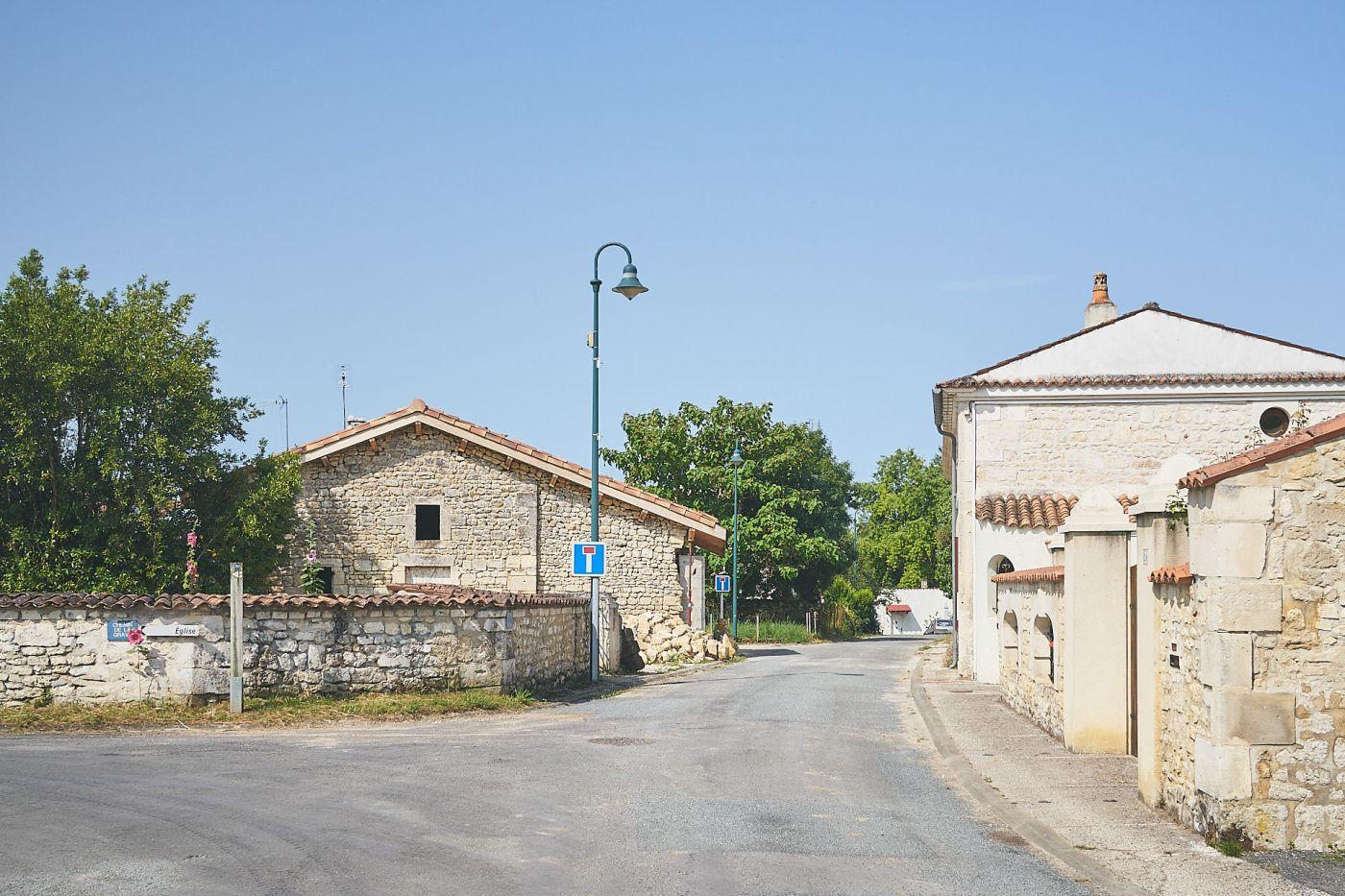 Vieux bourg de Bussac-sur-Charente