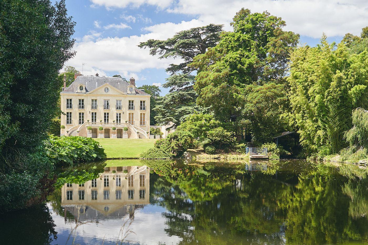 Château de l'arboretum de la Vallée-aux-loups